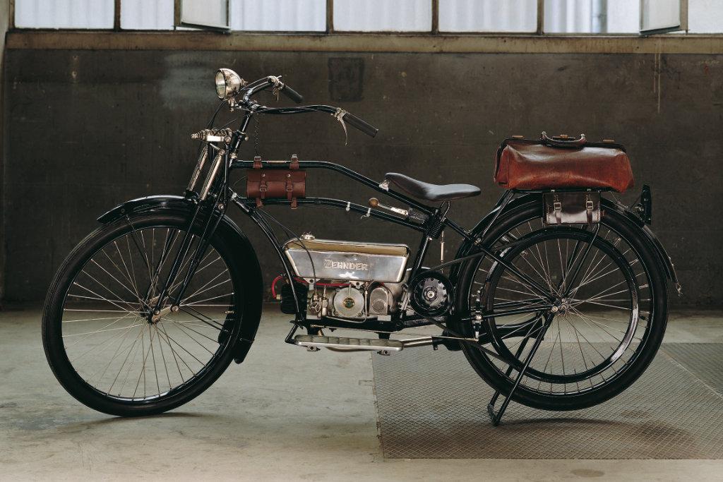 zehnder motorkerékpár