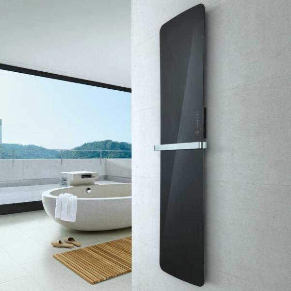 Runtal FolioGlass furdoszobai dizajn radiator