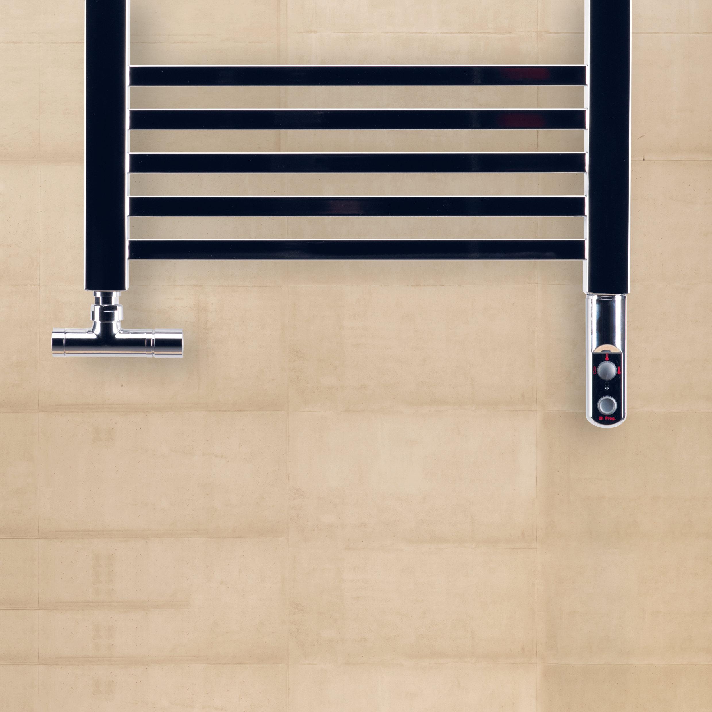 Zehnder Impa furdoszobai dizajn radiator bekotes egy egy oldalon egy szeleptesttel