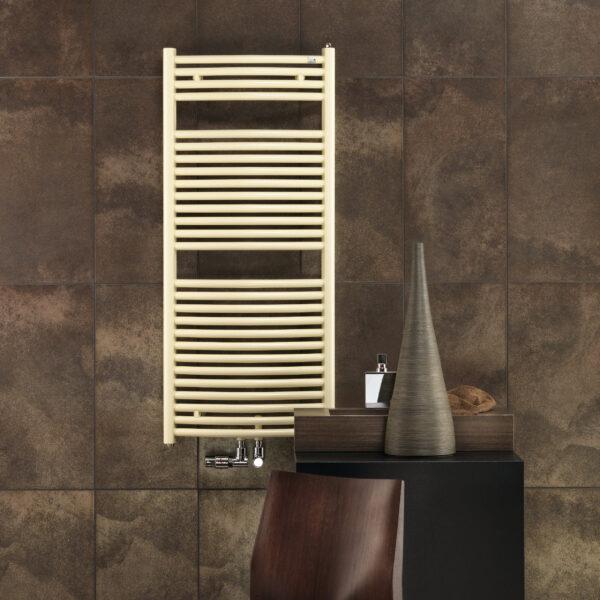 Zehnder Janda Bow furdoszobai dizajn radiator 1