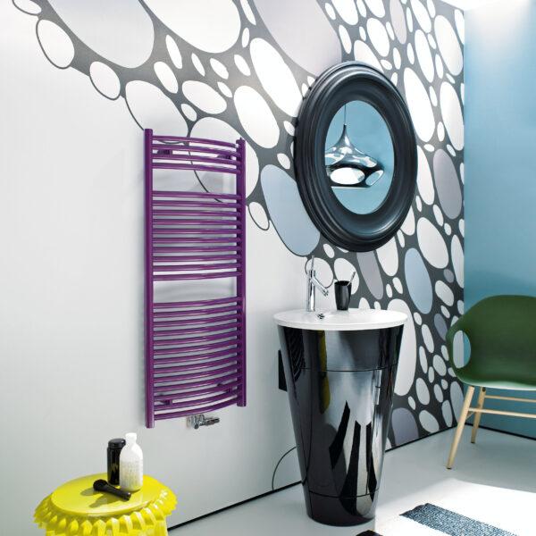 Zehnder Janda Bow furdoszobai dizajn radiator 2