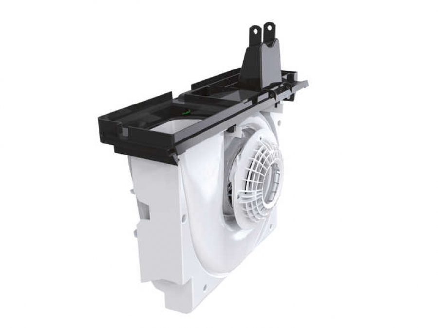 Zehnder ComfoAir Q tipusu hovisszanyero ventilatora